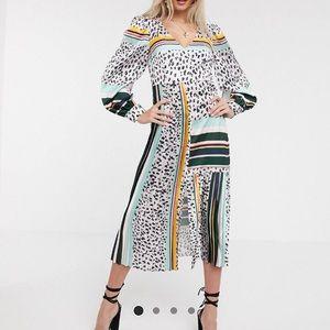 ASOS Midi Dress by Liquorish in Multi NWT